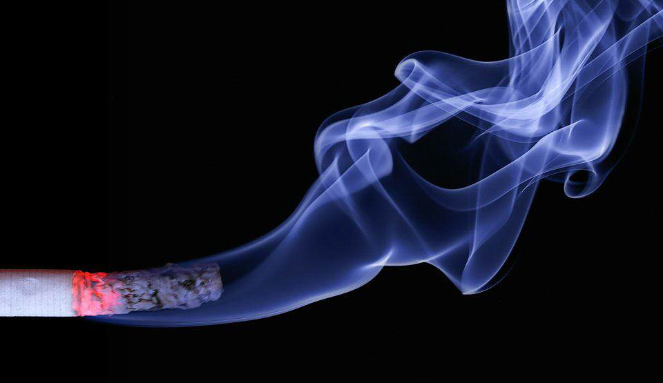 Cigarrillo encendido
