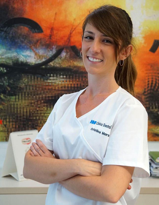 Cristina Mora Molina, higienista dental