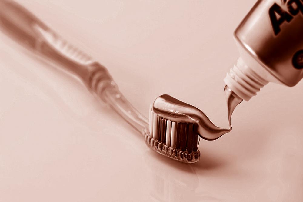 Limpieza dental con cepillo