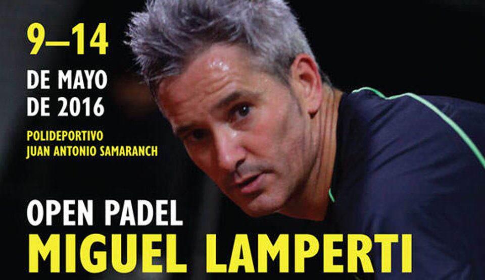 Open de padel Miguel Lamperti